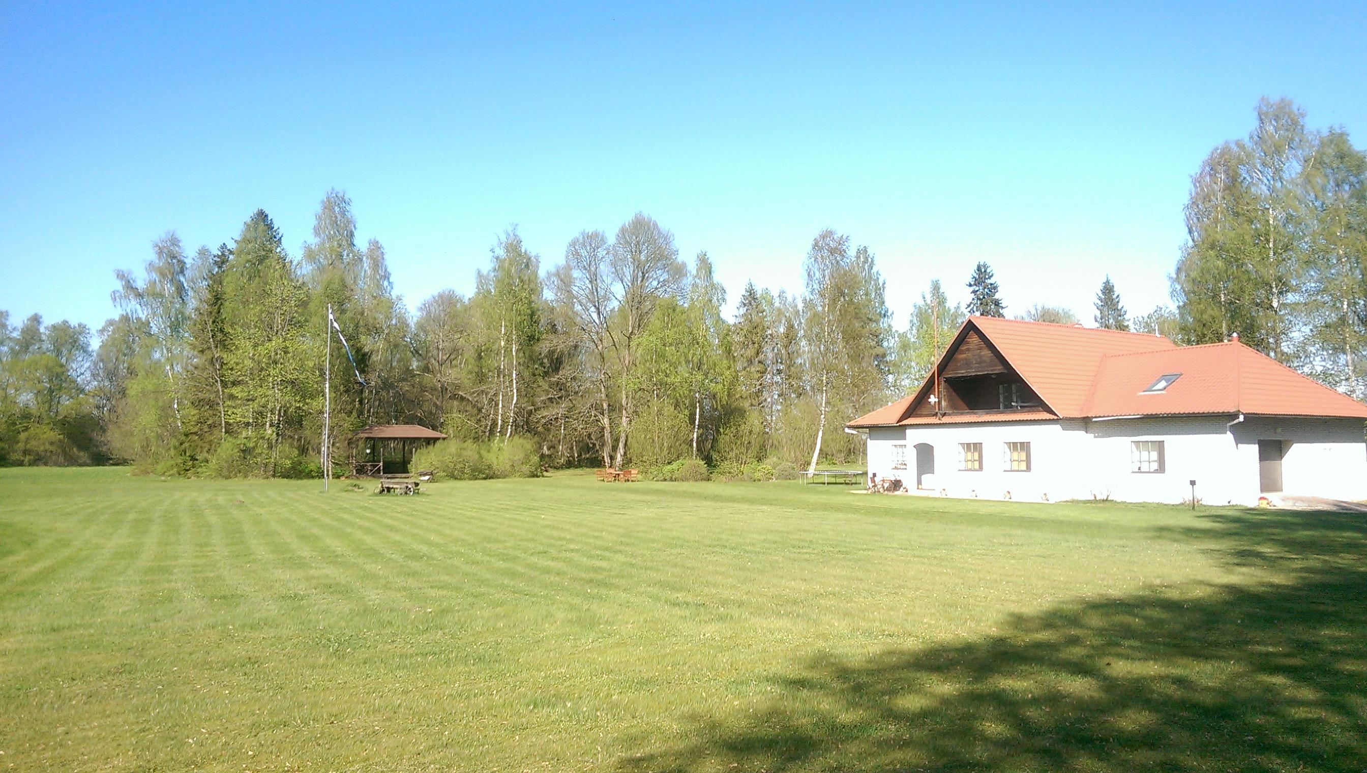 Maja ( 294 m2 ) koos  5,6 hektari  avara mõisapargiga !